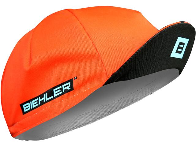 Biehler Casquette, black/red